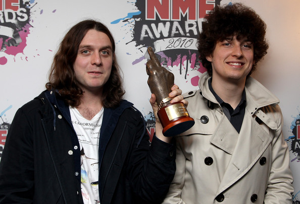 nme award nick o malley matt helders