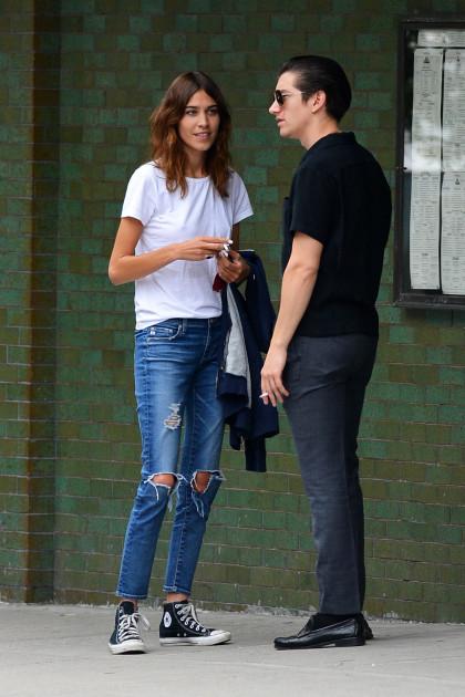 Matty Healy And Arielle Vandenberg